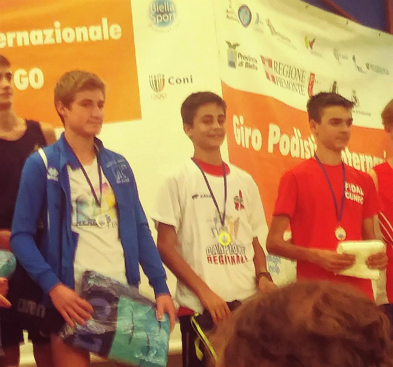 Mattio Campione Regionale Cadetti