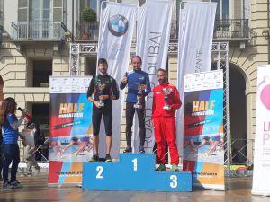 Podio Turin Half Marathon
